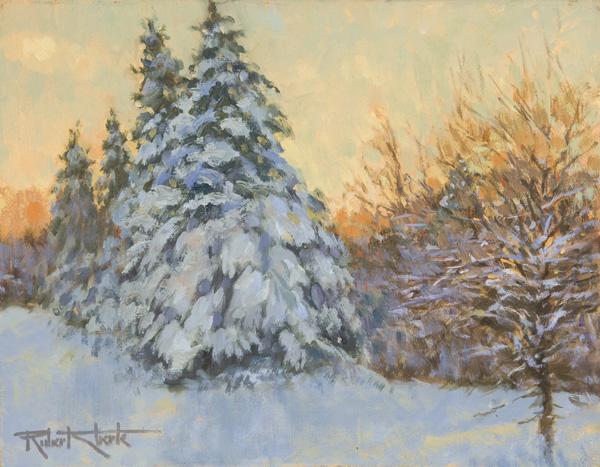 """December Light"" 11 x 14"