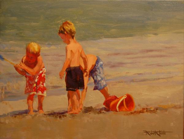 """Beach Party"" 14 x 18"