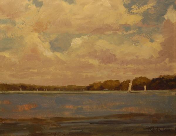 """Lake Light"" 16 x 20"
